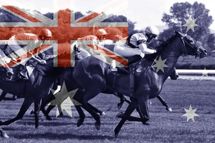 Pferderennen in Australien
