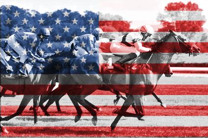 Pferderennen in den USA